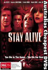 Stay Alive DVD NEW, FREE POSTAGE WITHIN AUSTRALIA REGION 4