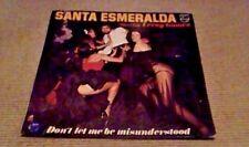 SANTA ESMERALDA Don't Let Me Be Misunderstood 1st GER LP 1977 Disco Funk Breaks