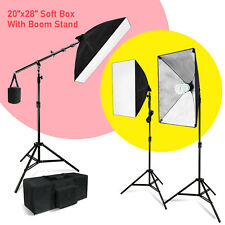 Lighting Softbox Stand Photography Photo Equipment Light Kit with All in one Bag
