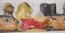 """FIREFIGHTER FIREMEN   Wallpaper Border 10 1/4"""""""