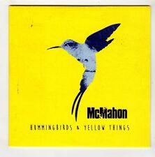 (GL40) McMahon, Hummingbirds & Yellow Things - 2015 DJ CD