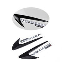 Side Fender Air Wing Vent FlossenTrims Cover For Mercedes C/E/S CLASS W205 W204