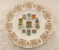 "Paragon China COATS-OF-ARMS & EMBLEMS 8"" Collector Plate"