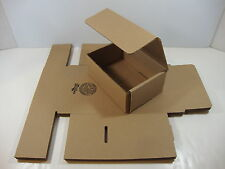 """6 New 7"""" x 5"""" x 3"""" Tuck Top Mailers Shipping Boxes Corrugated Cartons Boxes"""