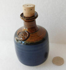 "Cheddar Pottery Vinegar bottle or Miniature cider flagon 4"" Ornament Tableware"