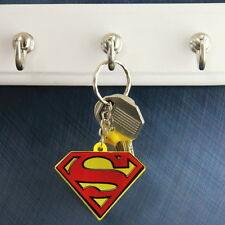 NEW OFFICIAL DC Comics Superman Logo Light Up Keychain Keyring Key Fob
