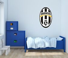 Juventus Serie A Soccer Wall Decals Vinyl Sticker For Room Bedroom Home