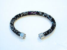 Swarovski Crystaldust Cuff Dark Crystals S 5255902 Authentic Brand New Box