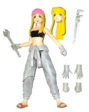 "Fullmetal Alchemist WINRY ROCKBELL 6"" movable anime figure Square Enix Play Arts"
