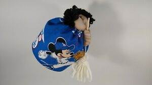 Dodgers Mickey Mouse Stocking Face Kitchen Witch Oooh...Peek Under Her Skirt!!
