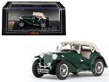 MGTC MG CLOSED TOP SHIRE GREEN 1/43 DIECAST MODEL CAR BY VITESSE 29163