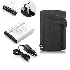 EN-EL10 Battery + Charger  for Nikon CoolPix S200 S210 S220 S510 S520 S570 S500