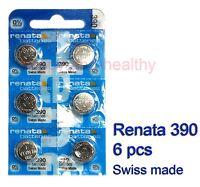 Renata SR1130S 390 Silver Oxide button Battery x 6 pcs Swiss Made FREE tracking