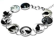 Raven Bracelet, Black Crow, Birds, Edgar Allan Poe, Poe, Goth Jewelry, Birds