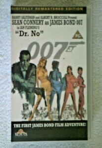 DR. NO 007 COLLECTABLE VHS PG 1992 SEAN CONNERY DIG REMASTERED