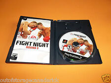 Fight Night Round 3 (Sony PlayStation 2, 2006) With Manual