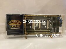 World of Warcraft 15th Anniversary Retired Server Blade HP Blizzard V2 + Stands