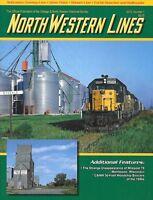 North Western Lines No.1 2012CNW Woodchip Boxcars Manitowoc Wisconsin Nebraska
