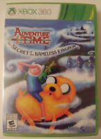 ADVENTURE TIME: THE SECRET OF THE NAMELESS KINGDOM -  XBOX 360 -  NEW & SEALED
