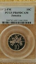 PCGS 1972-FM  Jamaica 10 Cents PR69 Population of 1 Ever Graded