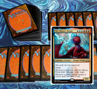 mtg BLUE RED IZZET COMMANDER EDH DECK Magic the Gathering niv-mizzet rare cards