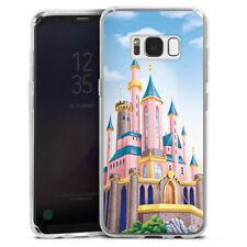 Samsung Galaxy S8 Silikon Hülle Case - Disney Castle
