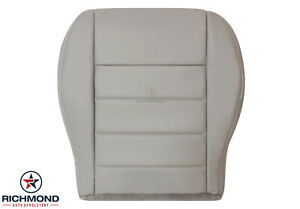 2006 Dodge Charger Daytona R/T -Driver Side Bottom Leather Seat Cover Light Gray