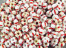 270-ANTIQUE-MICRO-VENETIAN-WHITE-AND-BRIGHT-RED-STRIPED-GLASS-PONY-TRADE-BEADS