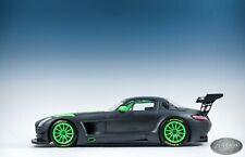 1/18 Minichamps Mercedes Benz SLS AMG GT3 IAA Edition BLACK / NEON GREEN