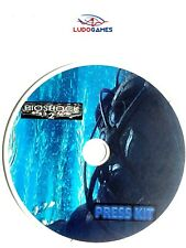 Bioshock 2 Press Kit Disc Prensa PS3 Playstation Videojuego Videogame Retro