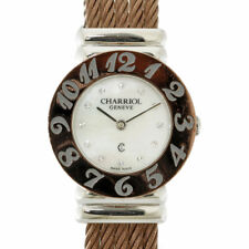 CHARRIOL Watches 028A Brown Silver  Stainless Steel Saint Tropez from japan