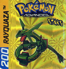 ≈Ω STAKS MAGNET POKEMON ADVANCED N° 200 RAYQUAZA HOLO