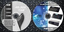 3.500 Patches Line6 Helix,LT,Rack Multi Effects Tone & 48.328 Guitar Tab Music
