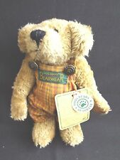 "Boyd'S Plush 7.5"" Brown Bear ""BearweaR"" from the 1990s Archive Collection New"