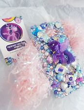 Bling Samsung Galaxy S7 bordo TELEPHONO CASE MEGA Bling My Little Pony Jewelled 3D