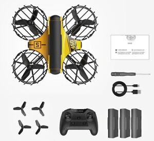 Hs450 Mini Combo Quad-copter Drone RC One Key Land Auto Hovering Headless Secure