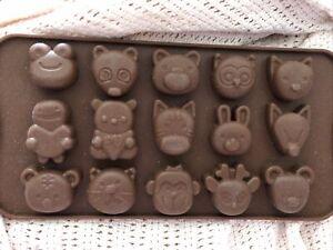Animals Candy Mold Silcone