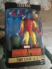 Marvel Legends Series Iron Man Tony Stark A.I.Holo Head BAF Mr Hyde  ?