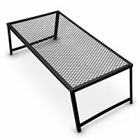 Heavy Duty Steel Mesh Over Fire Camping Grill Grate, Family Size, 4-6 People