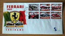 Suriname Republiek 2007 FDC E305A Ferrari