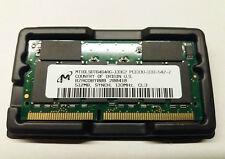 MICRON SDRAM 512MB SoDIMM PC133 144Pin 16Chip Notebook Laptop Speicher RAM NEU