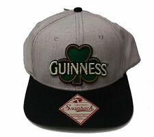 a253d98288c New Guinness Beer Embroidered Snapback Hat Baseball Cap