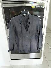 Ellen Tracy Size 16 Blue Blouse/Jacket