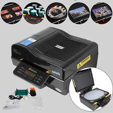 110V 3D Sublimation Heat Press Machine Printer Vacuum For Phone Cases Mugs Cups