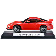 Porsche 911 GT3 Red Car Model Radio Controlled with Light 1:50 Silverlit 83637