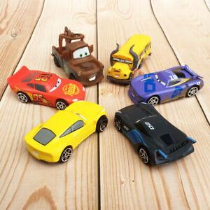 New 6pc/set Disney Pixar Cars Fritter,Rusteze,Mater Racer Cars Kids Gifts UK.