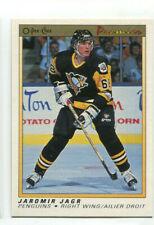 1990/91 O-Pee-Chee Premier Jaromir Jagr Rookie card