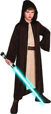 STAR WARS *JEDI ROBE* knight cloak CHILD COSTUME Small Luke Skywalker Brown Hood