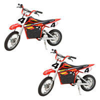 Razor MX500 Kids Toy Dirt Rocket Supercross Electric Bike Motorcycle (2 Pack)