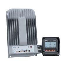Alta eficiencia 40A controlador de carga solar MPPT con medidor de LCD hasta 150V de entrada